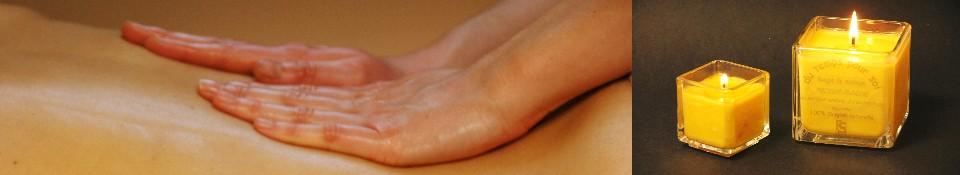 les huiles de massage et les bougies de massage à l'huile chaude pour le réseau des grossistes en bien être